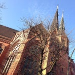 Photo taken at American Church in Berlin by localr on 11/23/2014