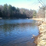 Photo taken at Milton River Park by Rugby X. on 11/24/2012