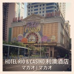 Photo taken at Rio Hotel & Casino 利澳酒店 by Yuta I. on 12/24/2012
