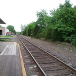 Photo taken at Metro North - Derby Train Station by Melvin M. on 5/28/2014