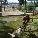 Photo taken at Parque Quito Tenis by Alyona A. on 7/3/2014