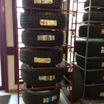Photo taken at Diversified Tires by Sarah D. on 9/21/2013