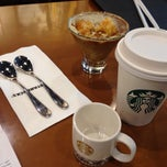 Photo taken at Starbucks by Hyejin P. on 10/12/2013