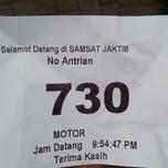 Photo taken at Samsat Jakarta Timur by Shinichi Z. on 11/10/2014