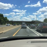 Photo taken at I-66 - Arlington / Fairfax County by David W. on 6/7/2014