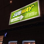 Photo taken at SUBWAY by Nina N. on 12/24/2013