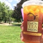 Photo taken at ZenCha Tea Salon by Krist C. on 7/22/2014