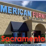 Photo taken at American Furniture Galleries by Yext Y. on 2/27/2015