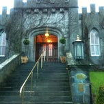 Photo taken at Dromoland Castle Hotel by Derek M. on 12/6/2012