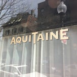 Photo taken at Aquitaine by Schyler C. on 3/31/2013