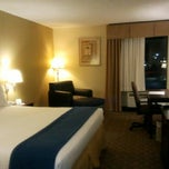 Photo taken at Holiday Inn Express and Suites by Brenda A. on 12/25/2012