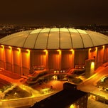 Photo taken at Carrier Dome by Syracuse University on 4/18/2014