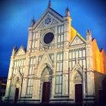 Photo taken at Basilica di Santa Croce by Michel L. on 5/10/2013