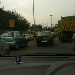 Photo taken at BRT Corridor by Arjun S. on 11/29/2012