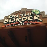 Photo taken at On The Border Mexican Grill & Cantina by SEO K. on 9/30/2012