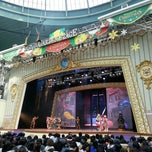 Photo taken at 롯데월드 가든스테이지 (Lotte World Garden Stage) by 토마스 on 11/25/2012