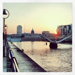 Photo taken at The River Liffey by Christian H. on 7/11/2013