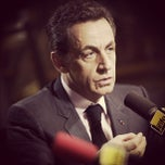 Photo taken at France Info by Nicolas Sarkozy on 3/26/2012