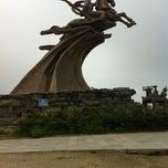 Photo taken at Đền Sóc by Jimmy T. on 4/16/2012