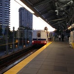 Photo taken at Lougheed Town Centre SkyTrain Station by Mark K. on 7/5/2012