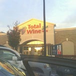 Photo taken at Total Wine & More by Reggie A. on 10/20/2012