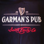 Photo taken at Garman's Irish Pub by Clint G. on 9/2/2013