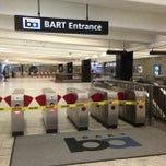 Photo taken at Civic Center/UN Plaza BART Station by Catrina R. on 7/1/2013