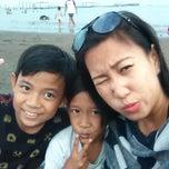 Photo taken at Pantai Alam Indah (PAI) Tegal by Liana A. on 3/21/2015