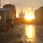 Photo taken at Остановка «Тульская улица» by Daniel K. on 7/19/2013