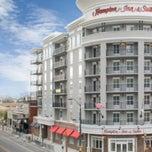 Photo taken at Hampton Inn & Suites Mobile Downtown by mayor k. on 9/17/2014