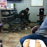Photo taken at New Lily Nail Spa by Melissa E. on 3/5/2013