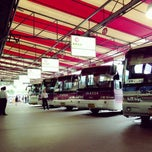 Photo taken at 동서울종합터미널 (East Seoul Intercity Bus Terminal) by Eugene J. on 7/9/2013