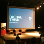 Photo taken at Digital Think Auditorio San Carlos II by Barb S. on 10/2/2012