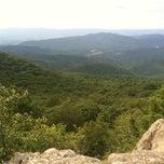 Photo taken at Bearfence Mountain Parking by Faith P. on 8/16/2013