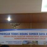 Photo taken at Puslitbang Sumber Daya Air by Desi A. on 2/4/2013