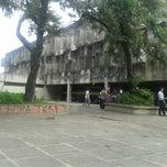Photo taken at CAC - Centro de Artes e Comunicação by Fernando A. on 4/1/2013