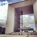 Photo taken at Grande Arche de la Défense by Aly M. on 9/13/2012