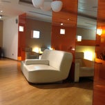 """Photo taken at Alitalia Lounge """"Giotto"""" by Stacey V. on 2/1/2013"""