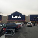 Photo taken at Lowe's Home Improvement by Dean D. on 12/8/2012