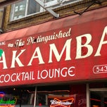 Photo taken at The Distinguished Wakamba Cocktail Lounge by The Corcoran Group on 7/29/2013