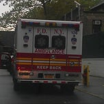 Photo taken at FDNY EMS Station 49 by Marcie K. on 10/7/2012