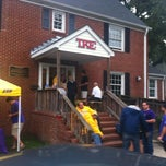 Photo taken at Tau Kappa Epsilon by Joshua E. on 9/29/2012