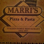 Photo taken at Marri's Pizza & Italian by Eric B. on 3/3/2012