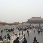 Photo taken at 乾清宫 Palace of Heavenly Purity by  Z. on 10/24/2014