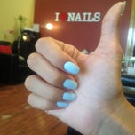 Photo taken at i love nails by Tessalia S. on 8/15/2013
