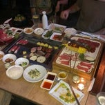 Photo taken at Wharo Korean BBQ by Qulius C. on 6/2/2013