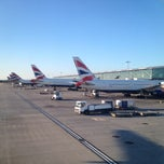 Photo taken at London Heathrow Airport (LHR) by Katsunori K. on 7/19/2013