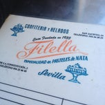 Photo taken at Confiteria Filella by Fran C. on 5/15/2013