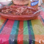 Photo taken at Birrieria San Miguel Cuyutlan by Francisco R. on 2/9/2013
