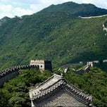 Photo taken at 慕田峪长城 Great Wall at Mutianyu by Venny F. V. on 4/22/2013